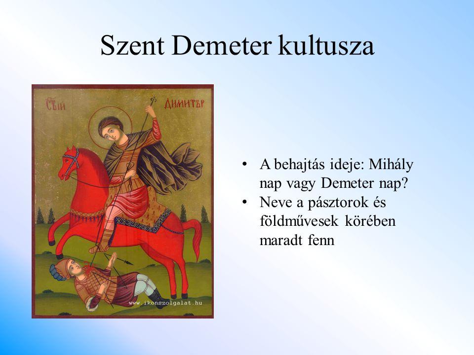 Szent Demeter kultusza