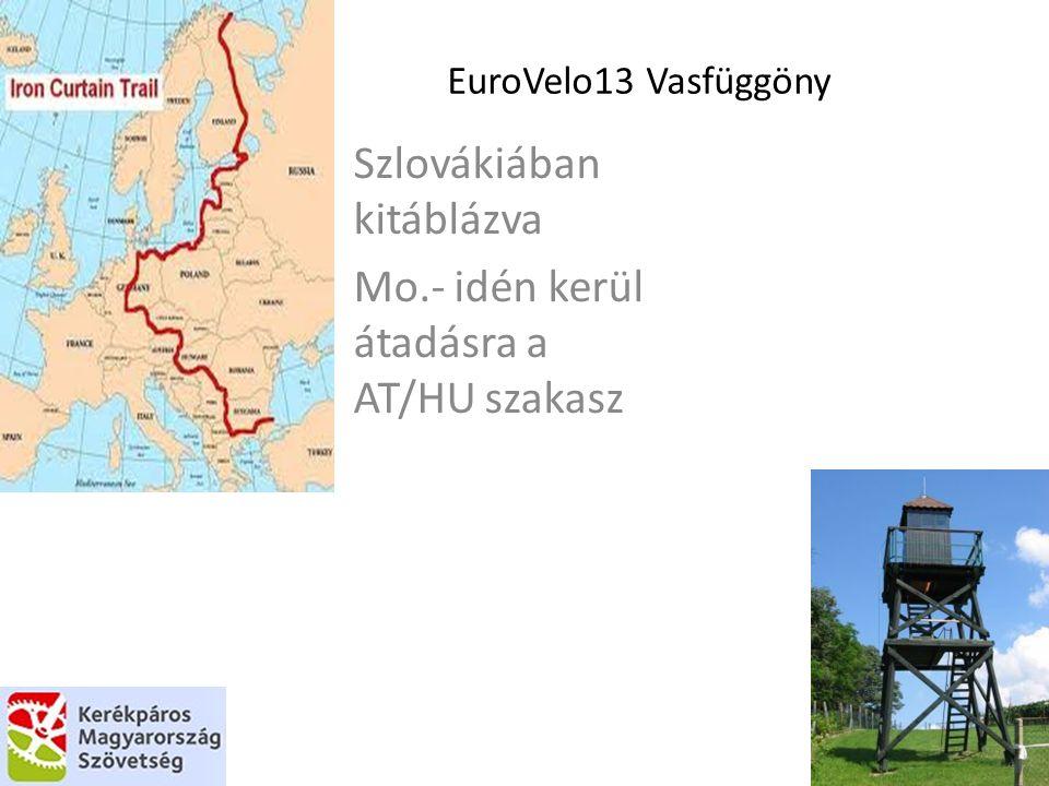Szlovákiában kitáblázva Mo.- idén kerül átadásra a AT/HU szakasz