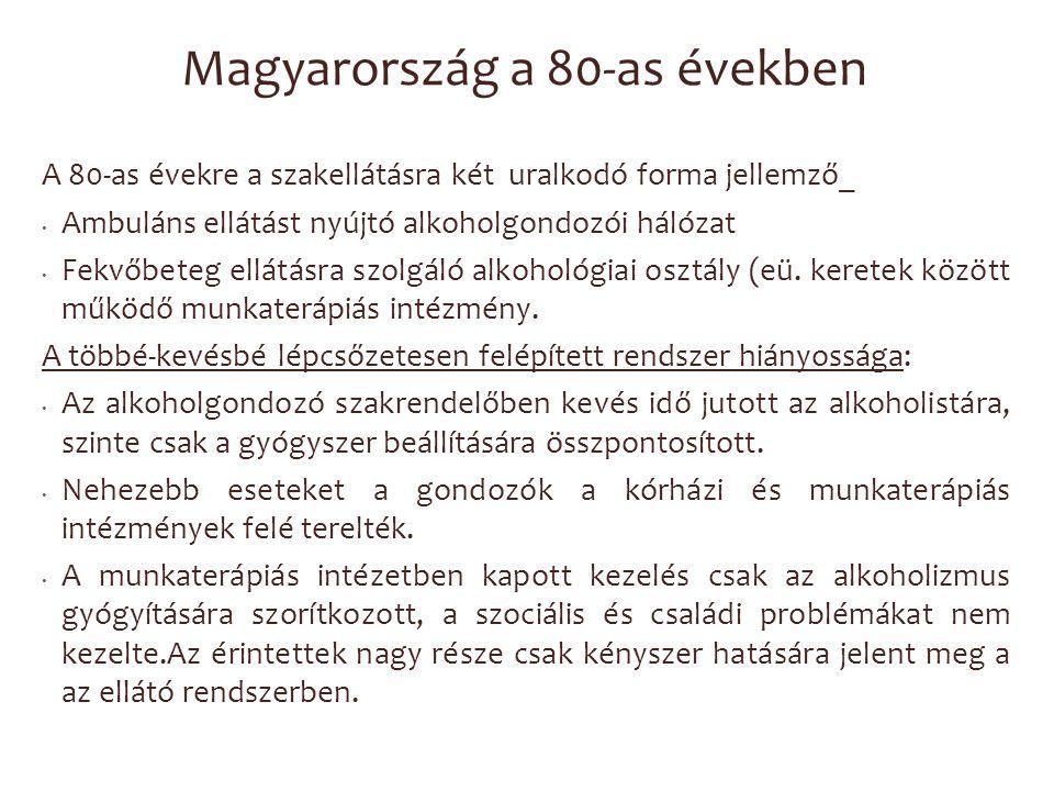 Magyarország a 80-as években