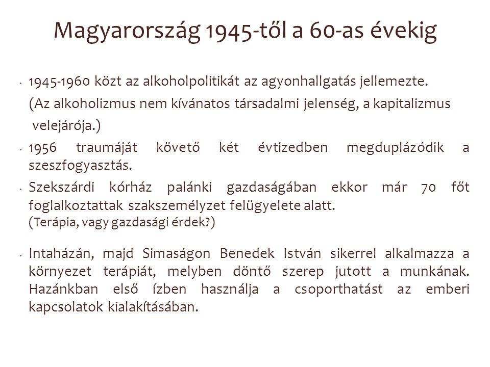 Magyarország 1945-től a 60-as évekig