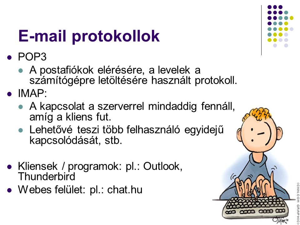 E-mail protokollok POP3