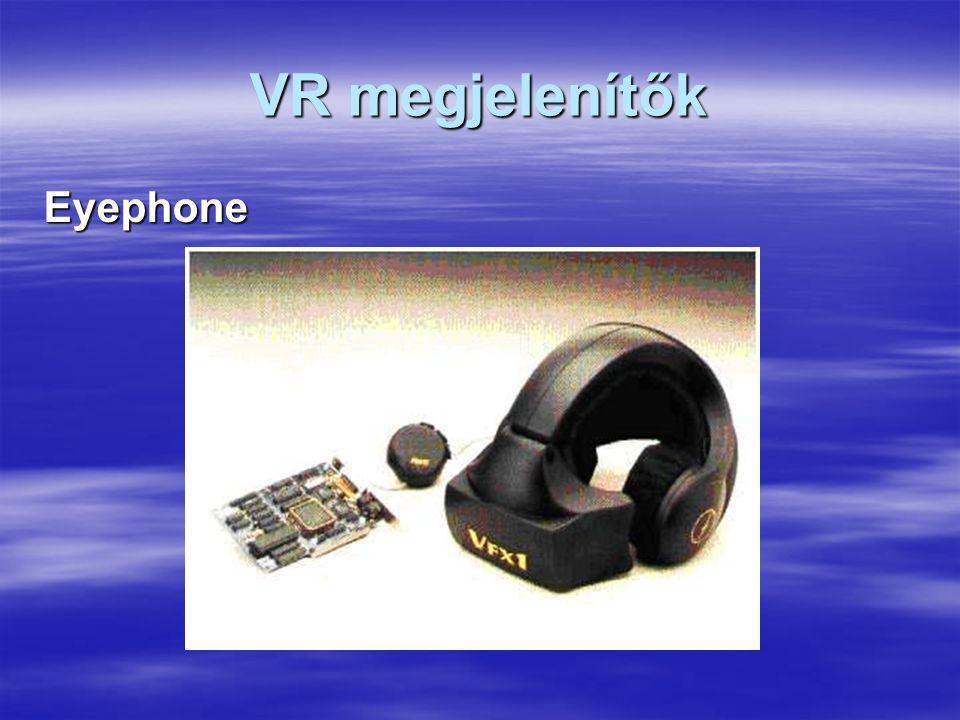 VR megjelenítők Eyephone
