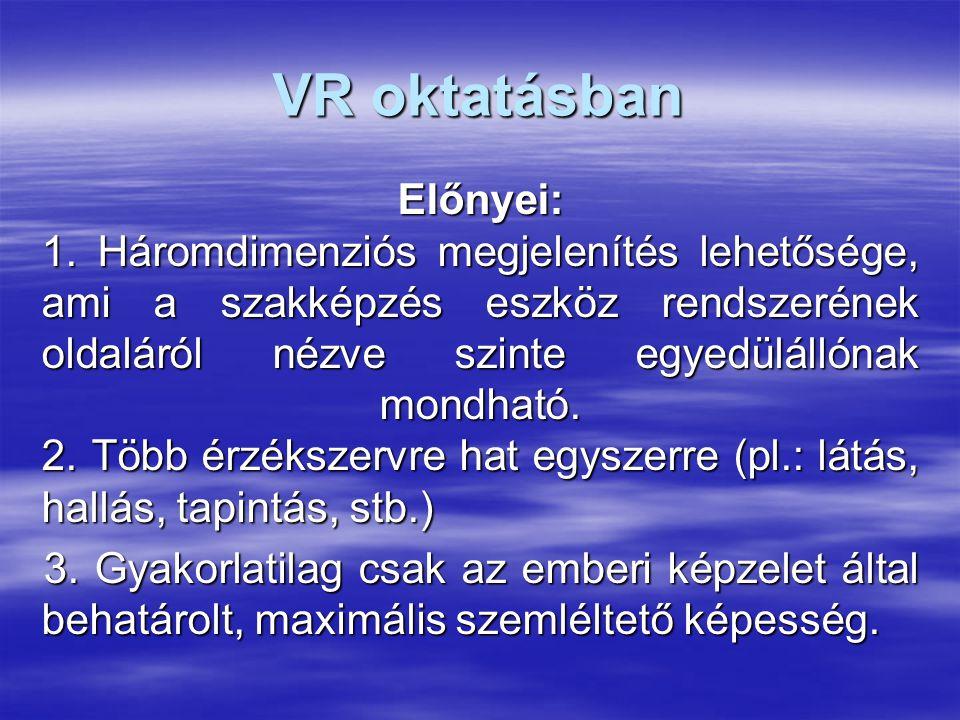 VR oktatásban
