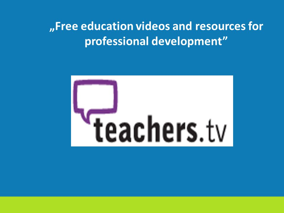 """Free education videos and resources for professional development"