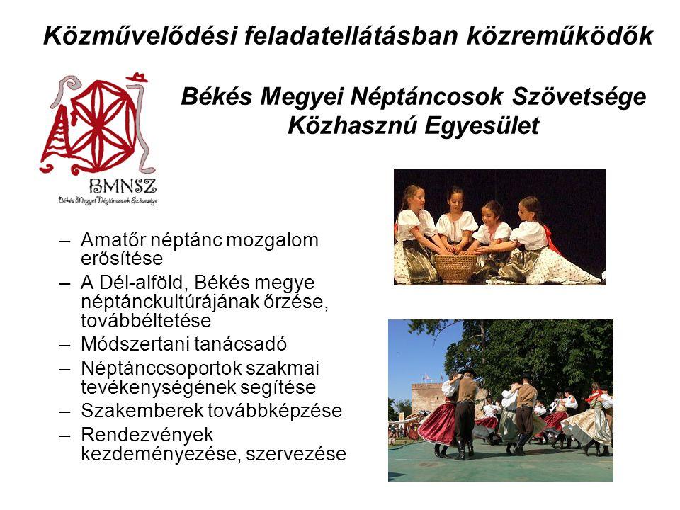 Békés Megyei Néptáncosok Szövetsége Közhasznú Egyesület