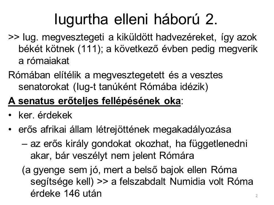 Iugurtha elleni háború 2.