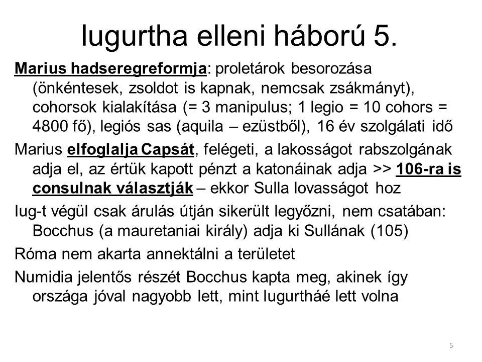 Iugurtha elleni háború 5.