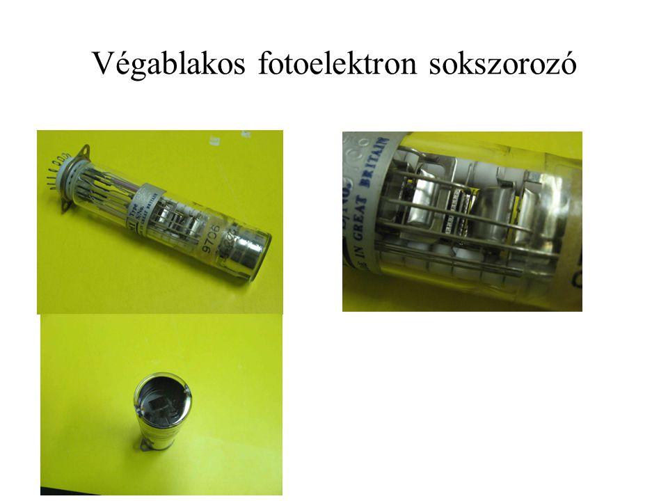 Végablakos fotoelektron sokszorozó