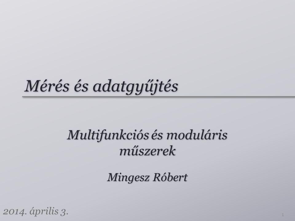 Multifunkciós és moduláris műszerek