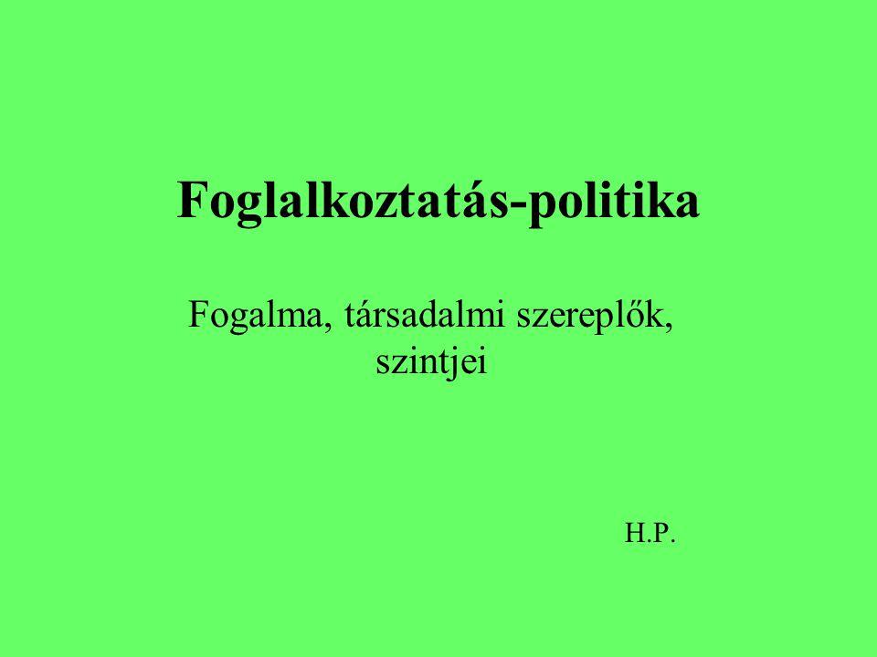 Foglalkoztatás-politika