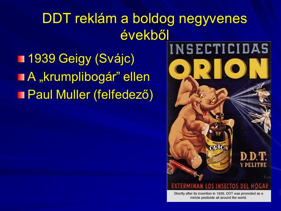 DDT reklám a boldog negyvenes évekből