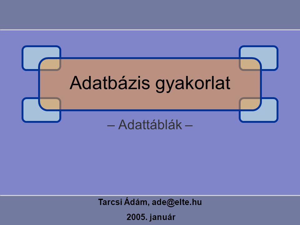Tarcsi Ádám, ade@elte.hu