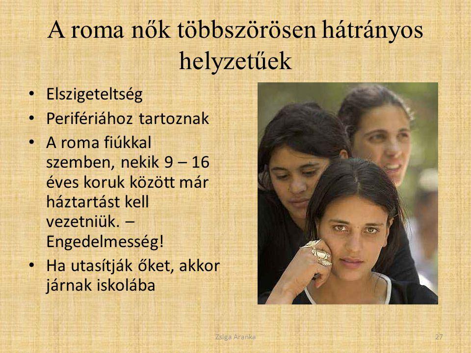 A roma nők többszörösen hátrányos helyzetűek