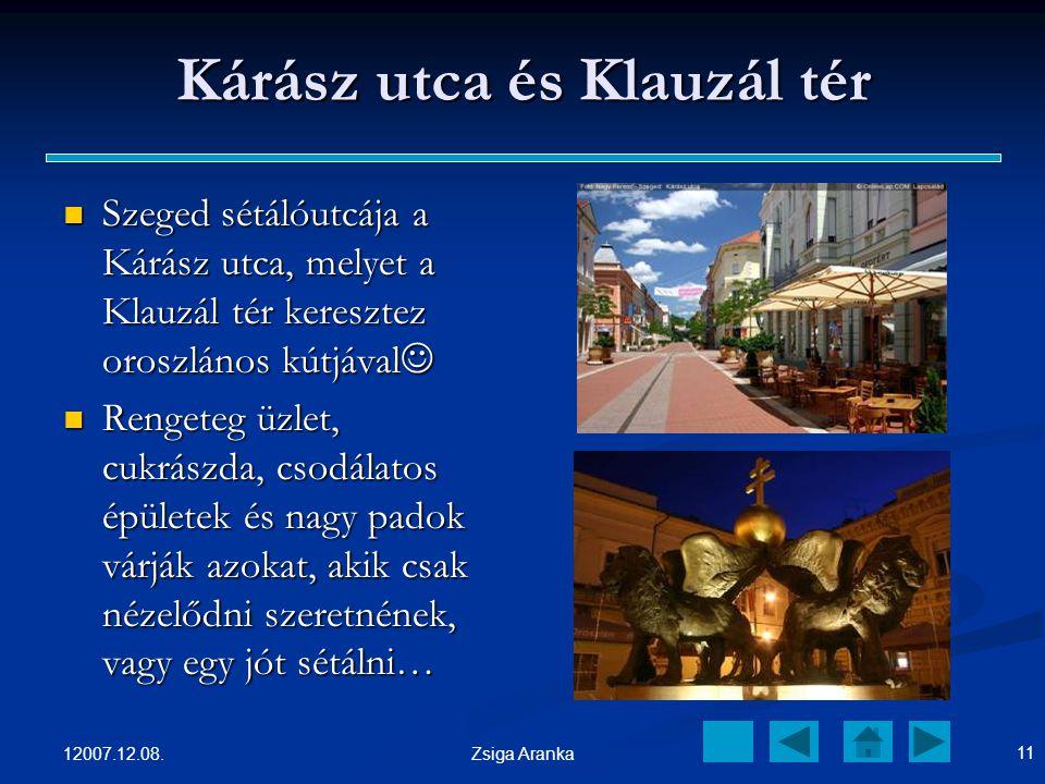 Kárász utca és Klauzál tér