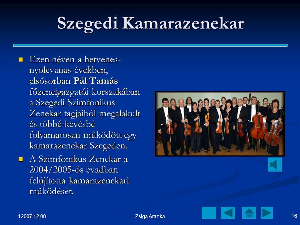 Szegedi Kamarazenekar