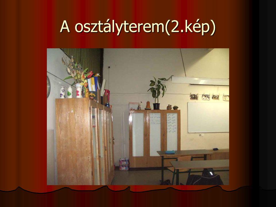 A osztályterem(2.kép)