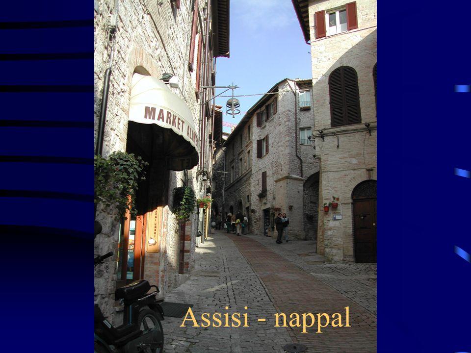 Assisi - nappal