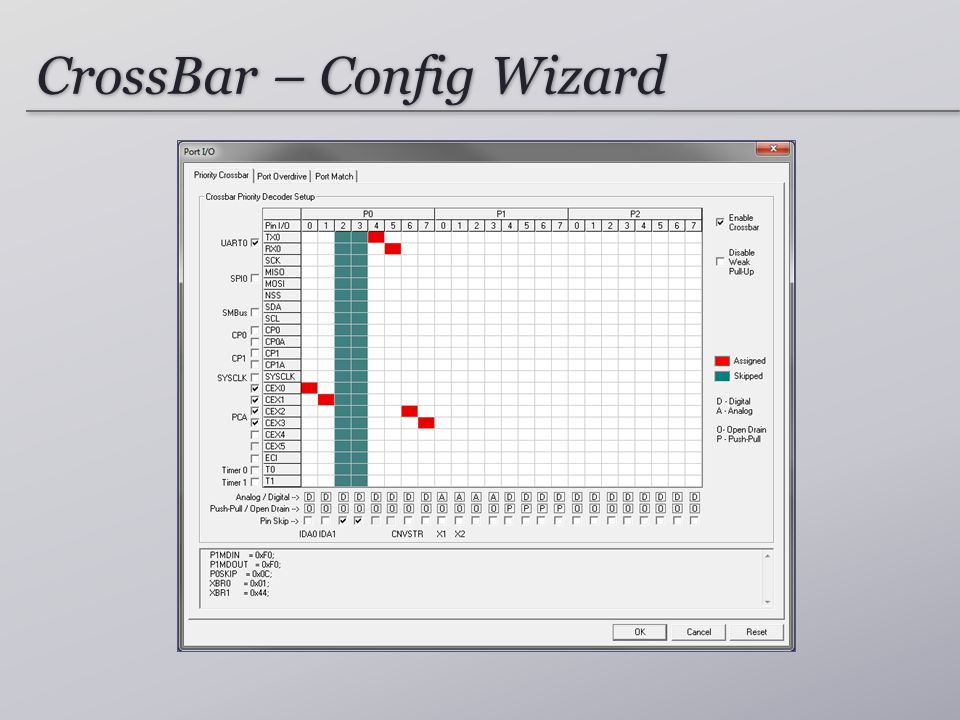 CrossBar – Config Wizard