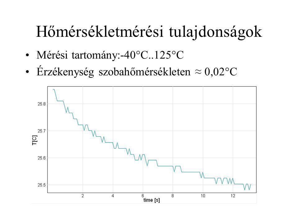 Hőmérsékletmérési tulajdonságok