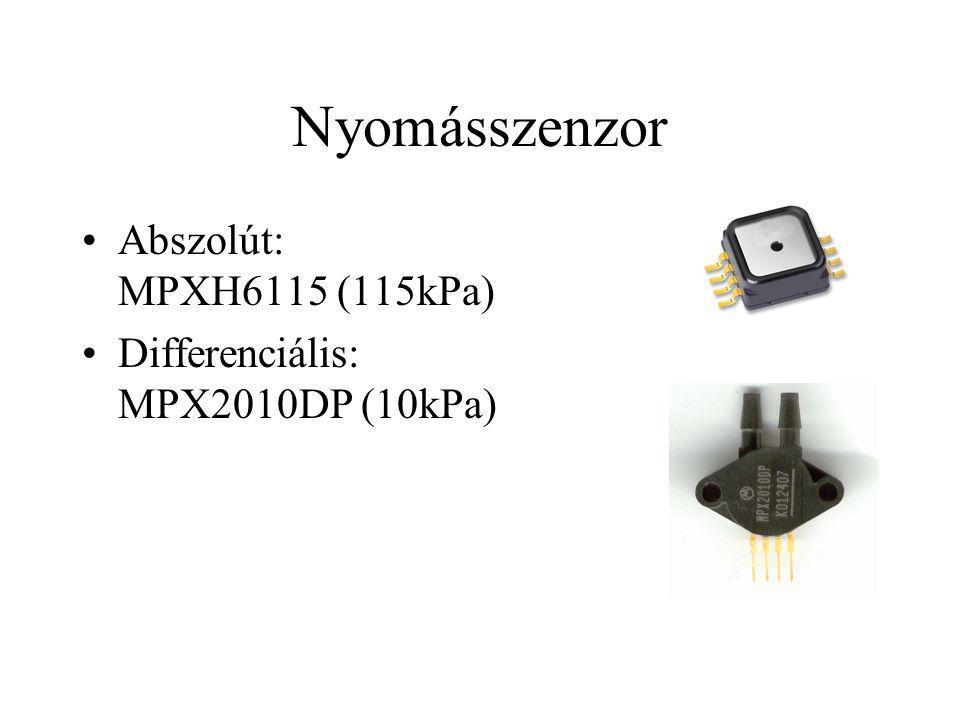 Nyomásszenzor Abszolút: MPXH6115 (115kPa)