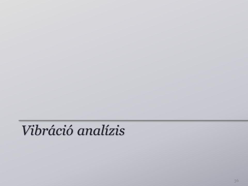 Vibráció analízis
