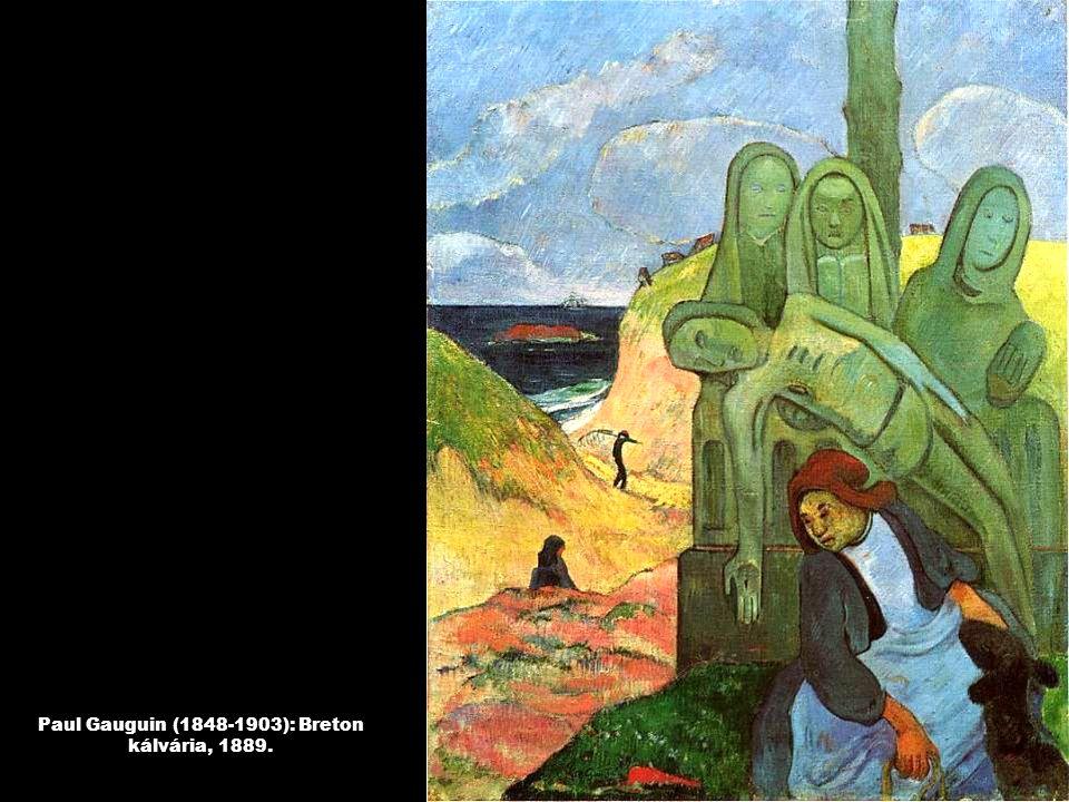 Paul Gauguin (1848-1903): Breton kálvária, 1889.