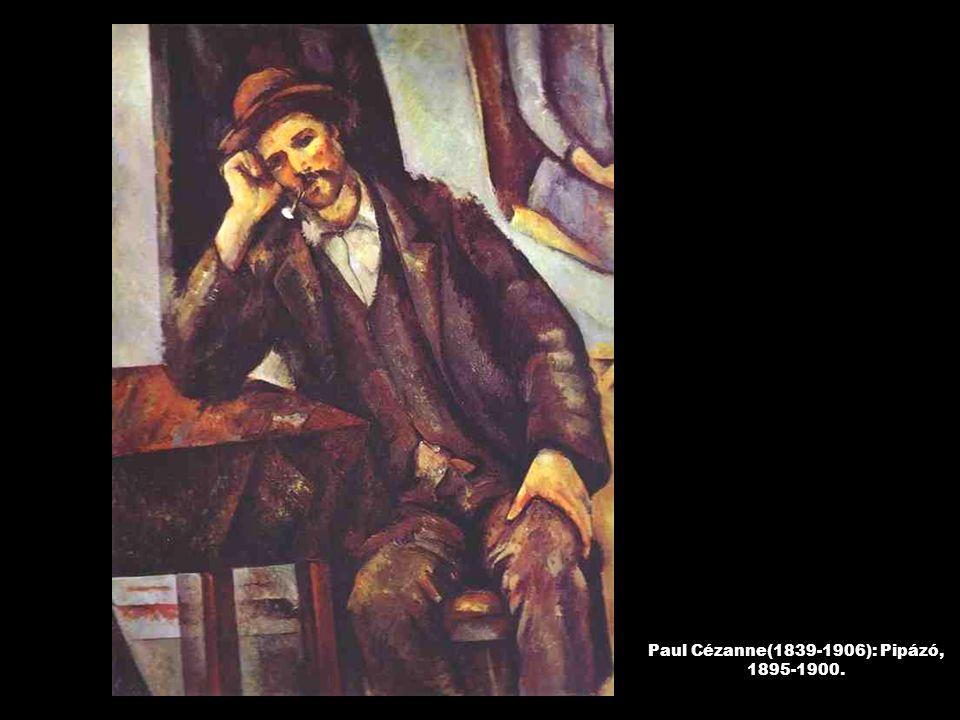 Paul Cézanne(1839-1906): Pipázó, 1895-1900.