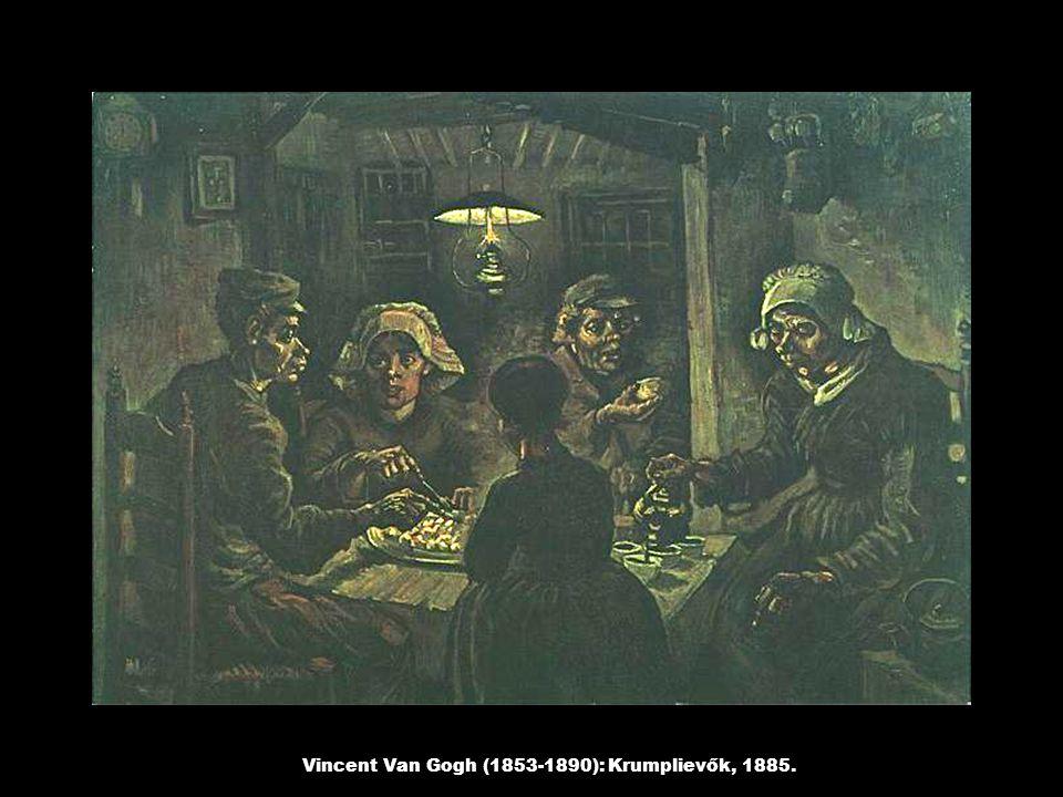 Vincent Van Gogh (1853-1890): Krumplievők, 1885.