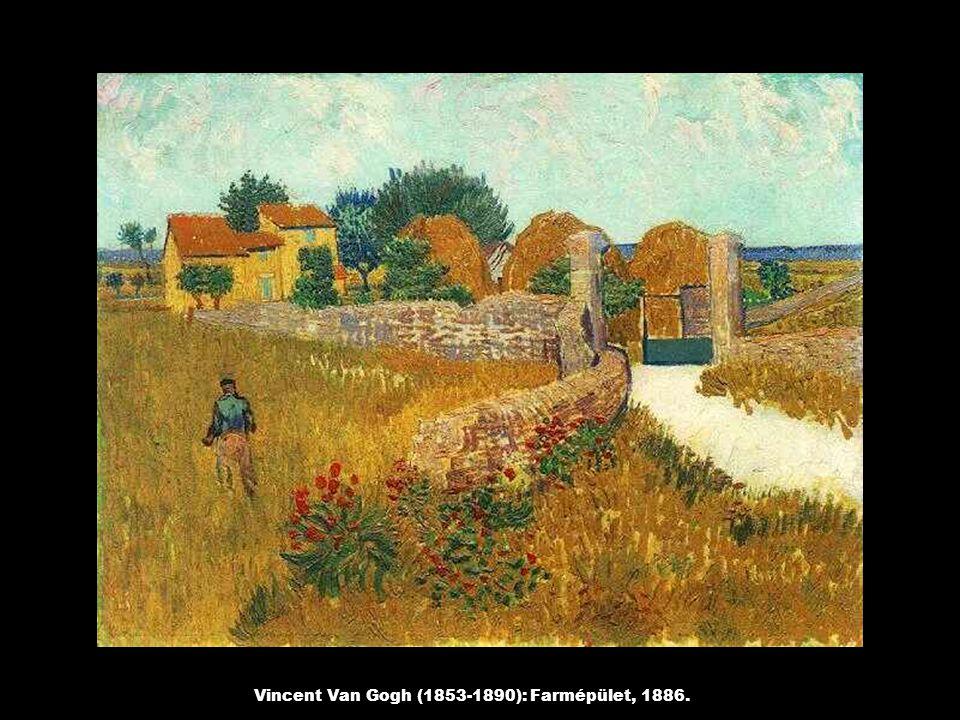 Vincent Van Gogh (1853-1890): Farmépület, 1886.