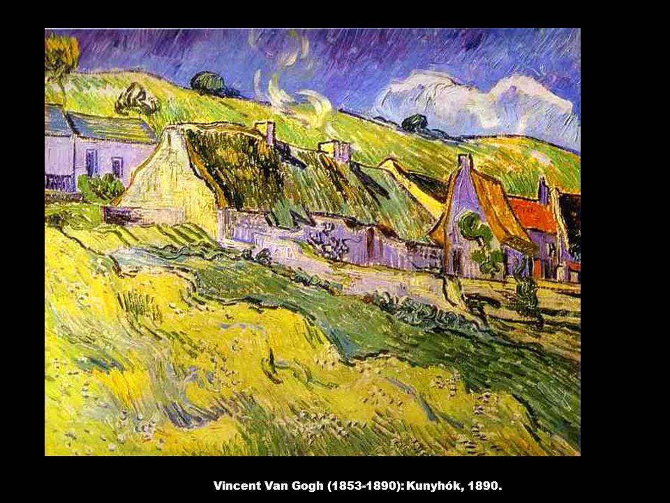 Vincent Van Gogh (1853-1890): Kunyhók, 1890.