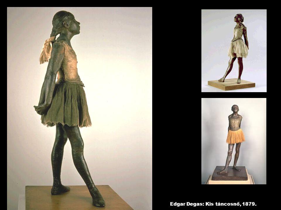 Edgar Degas: Kis táncosnő, 1879.
