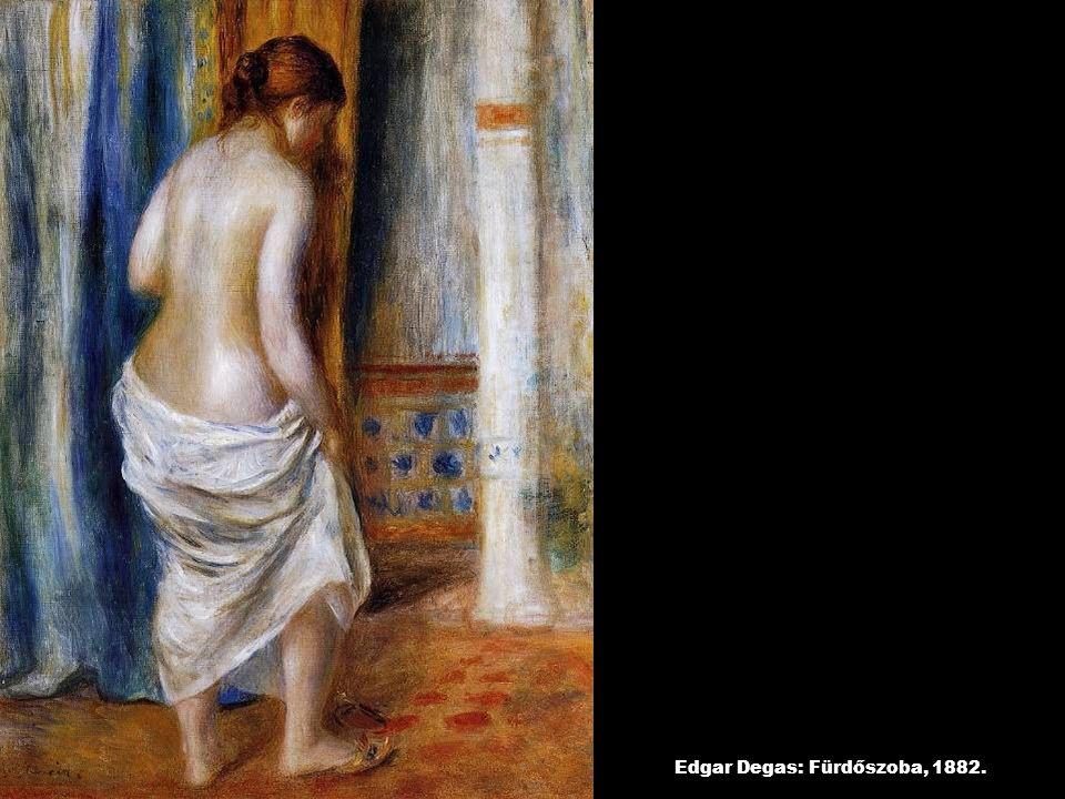 Edgar Degas: Fürdőszoba, 1882.