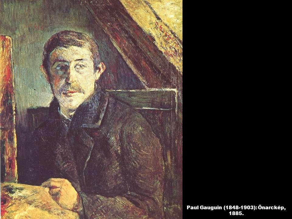 Paul Gauguin (1848-1903): Önarckép, 1885.