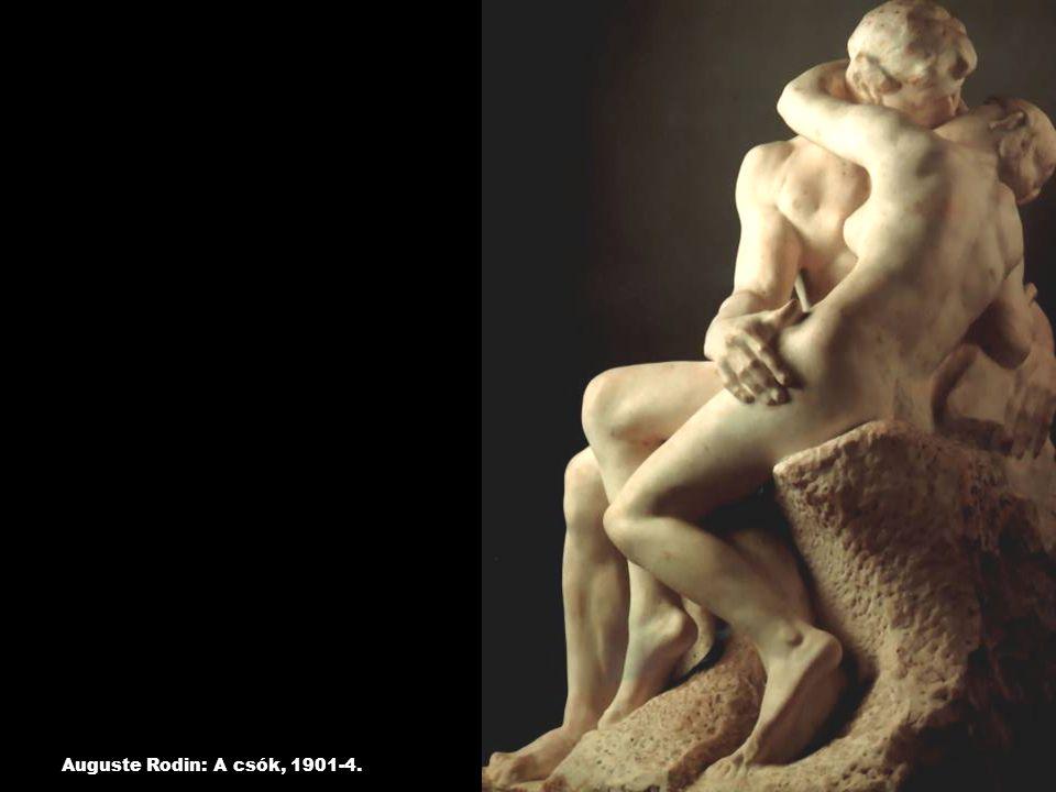 Auguste Rodin: A csók, 1901-4.
