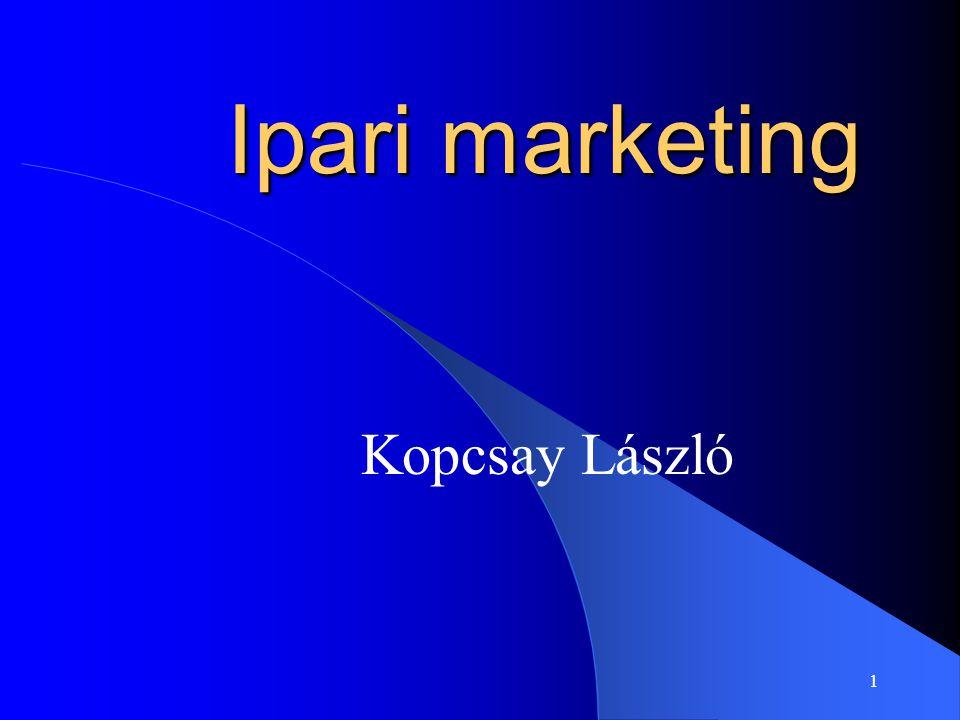 Ipari marketing Kopcsay László
