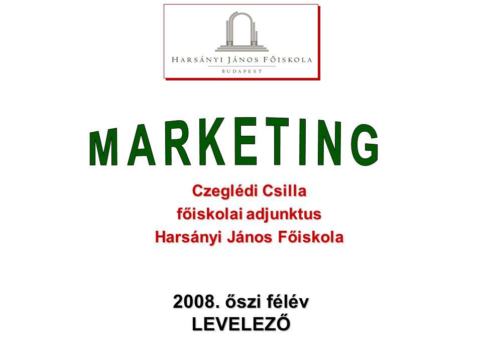 2. alkalom TARTALOM Értékesítés Marketingkommunikáció