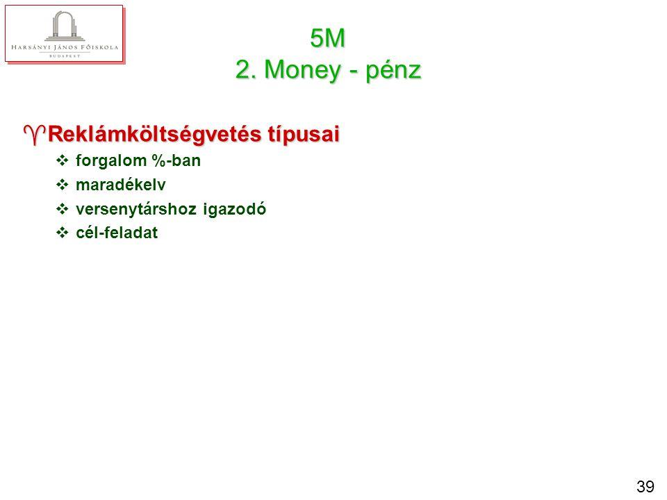 5M 3. Message - üzenet Üzenet tartalma racionális emocionális morális