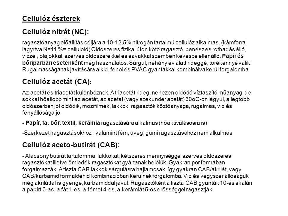 Cellulóz aceto-butirát (CAB):