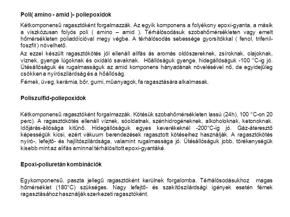 Poli( amino - amid )- poliepoxidok