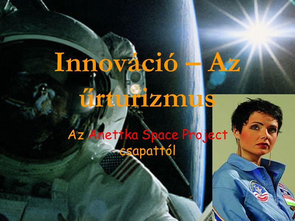 Innováció – Az űrturizmus