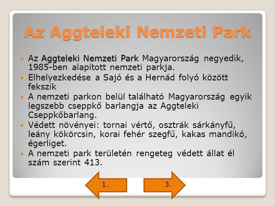 Az Aggteleki Nemzeti Park