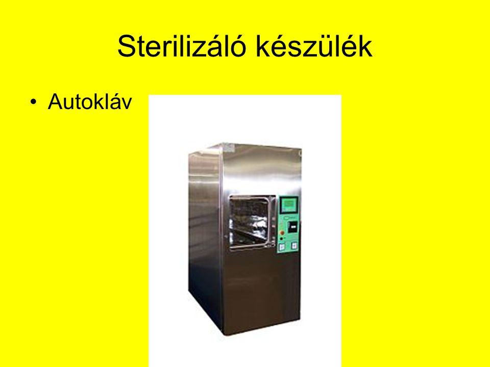 Sterilizáló készülék Autokláv