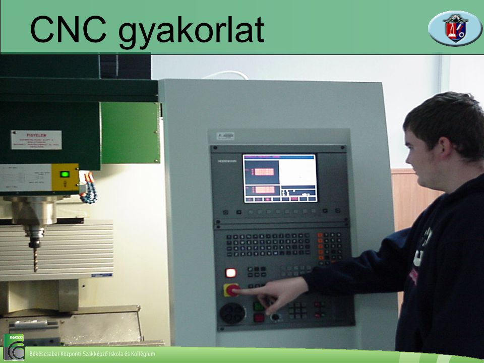 CNC gyakorlat