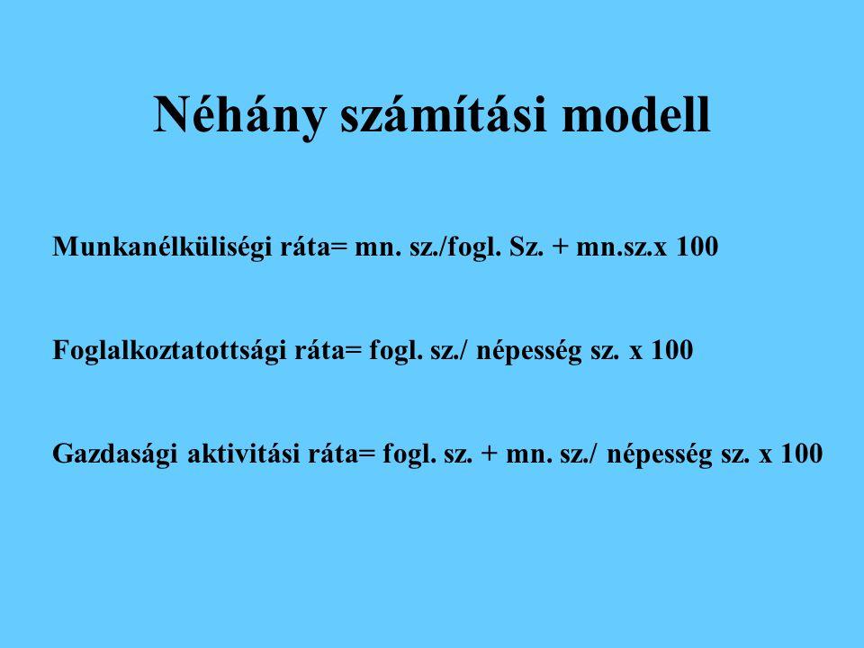 Néhány számítási modell