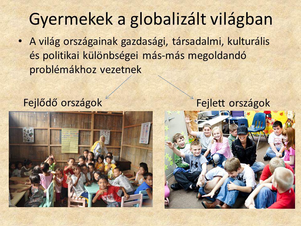 Gyermekek a globalizált világban