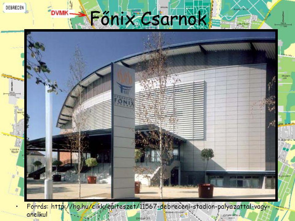 Főnix Csarnok Forrás: http://hg.hu/cikk/epiteszet/11567-debreceni-stadion-palyazattal-vagy-anelkul