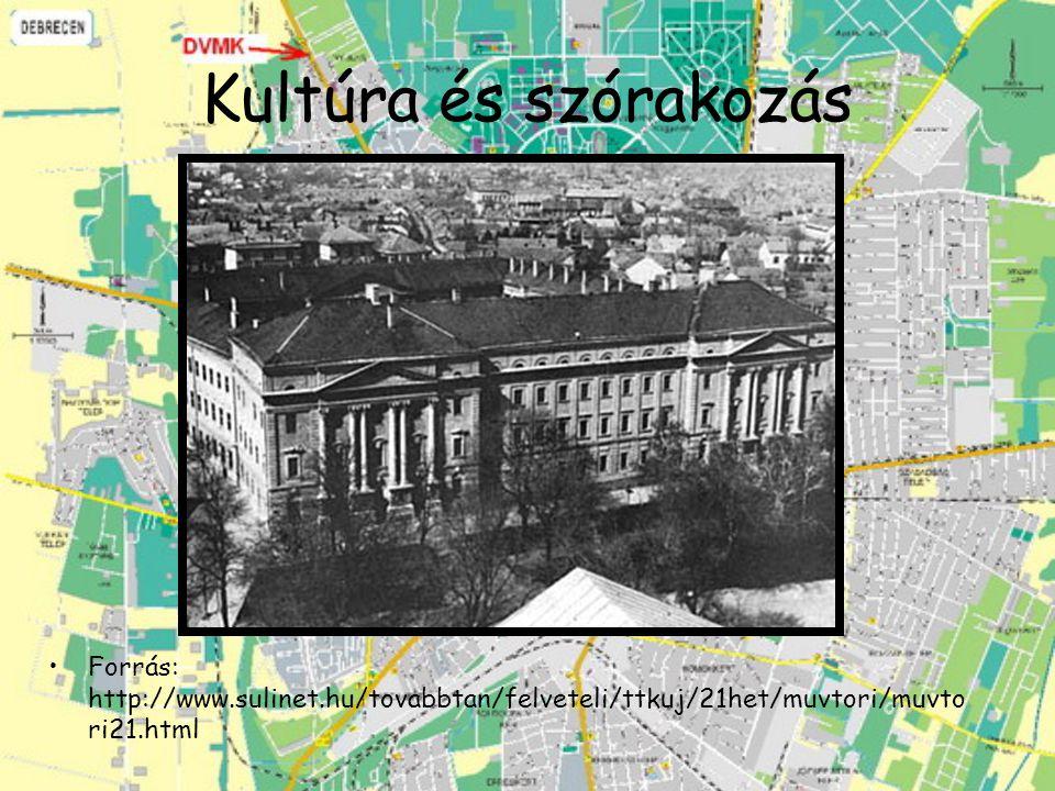 Kultúra és szórakozás Forrás: http://www.sulinet.hu/tovabbtan/felveteli/ttkuj/21het/muvtori/muvtori21.html.