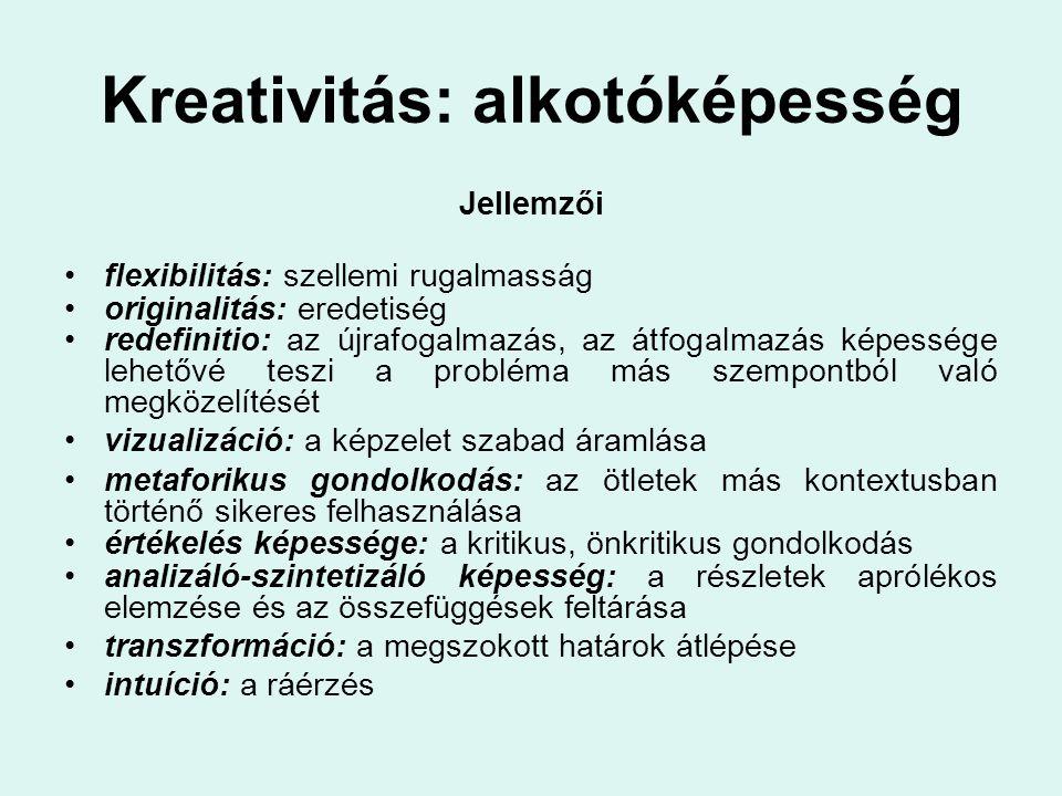 Kreativitás: alkotóképesség