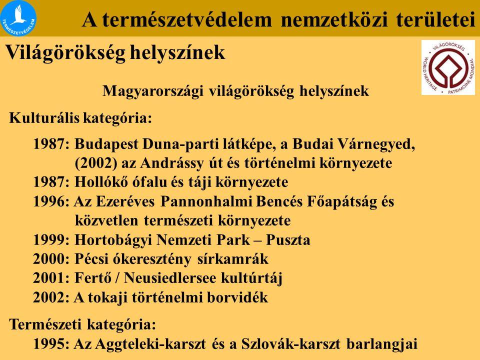 Magyarországi világörökség helyszínek