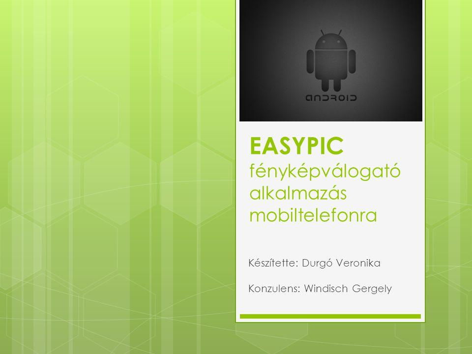 EASYPIC fényképválogató alkalmazás mobiltelefonra